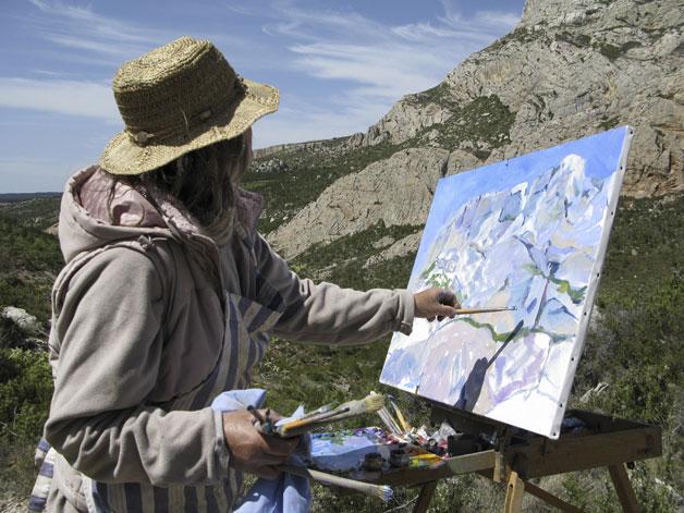 Peinture extérieur Sainte Victoire